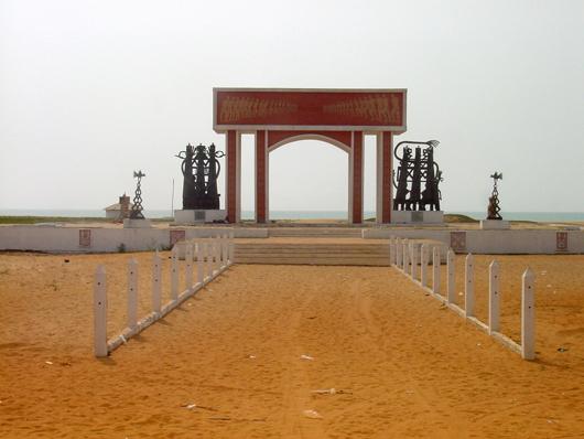 Monday's Monument: Gateway of No Return, near Ouidah, Benin