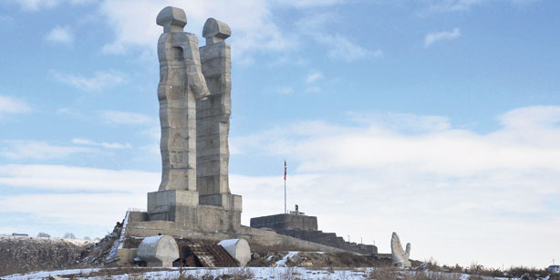 Monday S Monument Monument To Humanity Kars Turkey