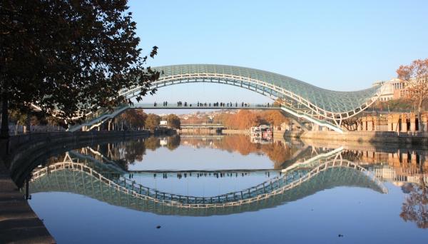 Monday's Monument: Bridge of Peace, Tbilisi, Georgia