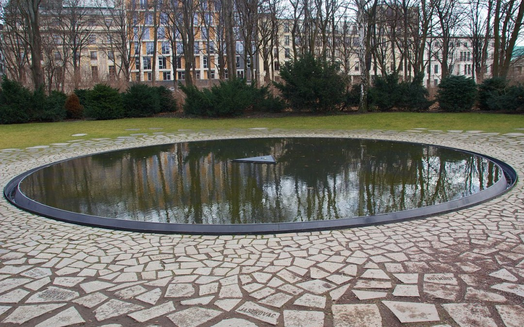 Monday's Monument: Memorial to the Sinti and Roma Victims of National Socialism, Berlin, Germany