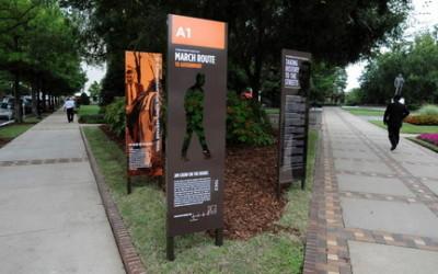 Monday's Monument: Civil Rights Heritage Trail, Birmingham, AL
