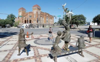 Monday's Monument: Kelly Ingram Park Statues, Birmingham, AL