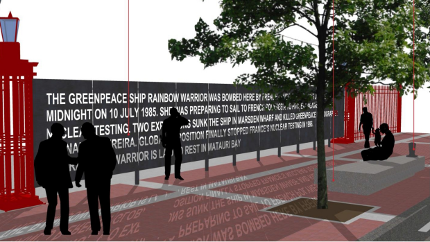 Monday's Monument: Proposed Rainbow Warrior Memorial, Auckland, New Zealand