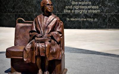 Monday's Monument: Rosa Parks Plaza, Dallas, TX