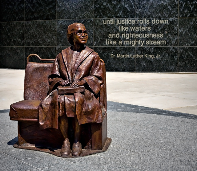 Monday's Monument: Rosa Parks Plaza, Dallas, TX