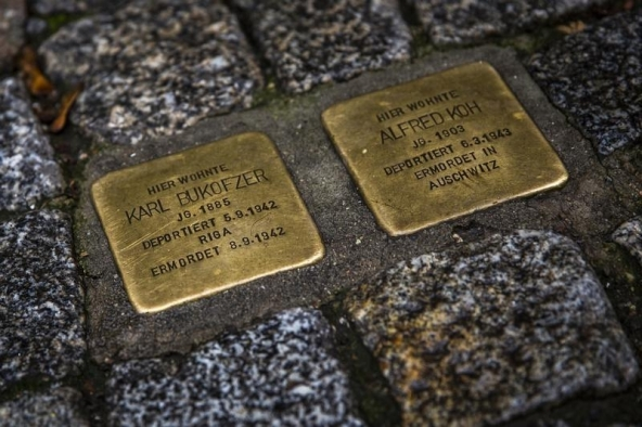 Monday's Monument: Stolpersteine, throughout Europe