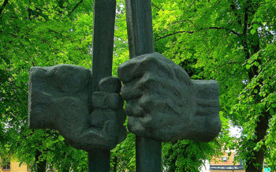 Monday's Monument: Befrielsen / Liberation, Uppsala, Sweden