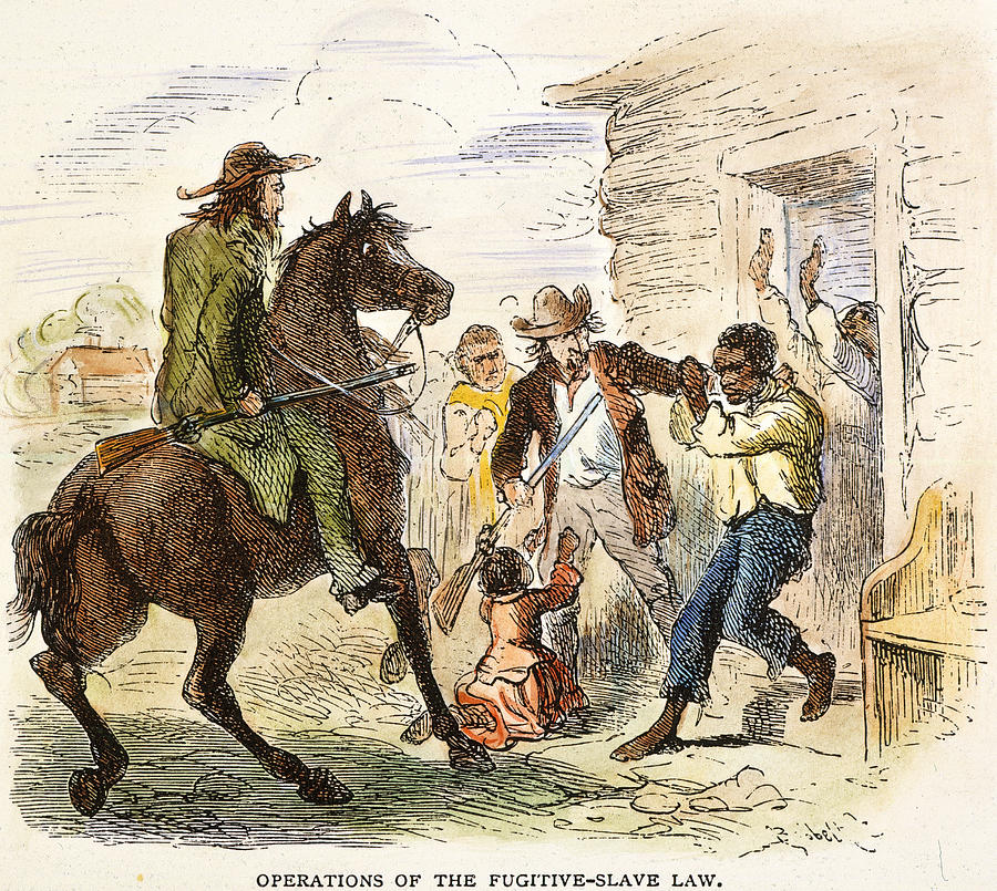 Image result for congress passed the fugitive slave act