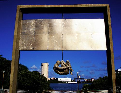 Monday's Monument: Tortura Nunca Mais,  Recife, Brazil