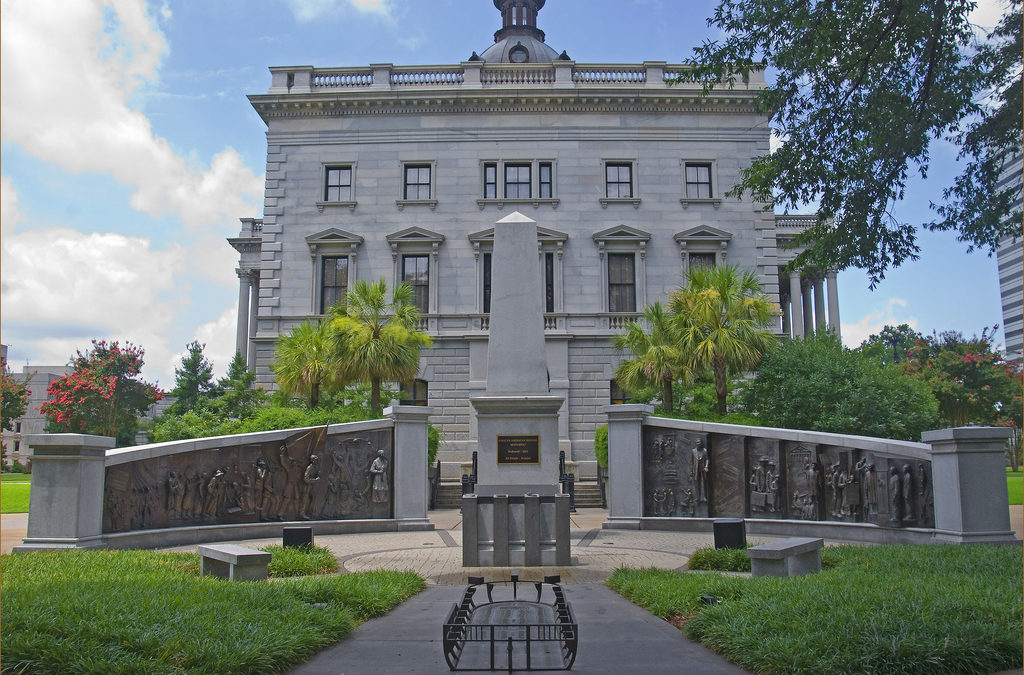 Monday's Monument: African American Monument, Columbia, South Carolina