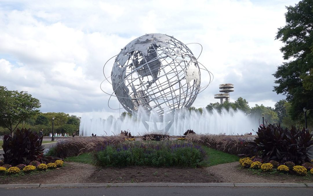 Monday's Monument: Unisphere, Flushing Meadows, New York