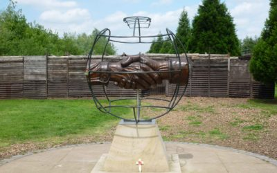 Monday's Monument: Christmas Truce Memorial, Staffordshire, England