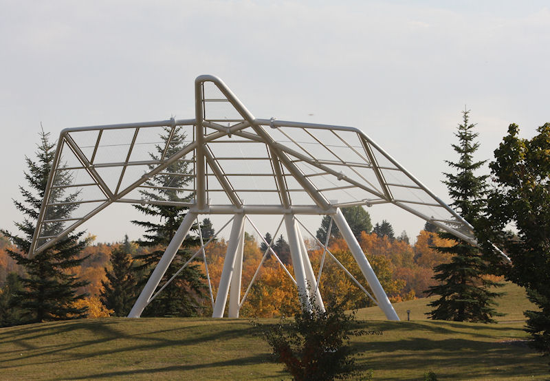 Monday's Monument: Dove of Peace, Edmundton, Alberta, Canada