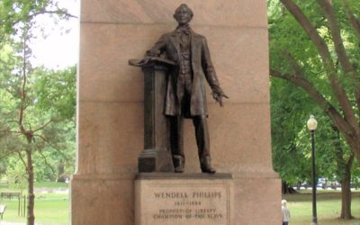 Monday's Monument: Wendell Phillips Statue, Boston, Massachusetts