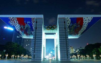 Monday's Monument: World Peace Gate, Seoul, South Korea