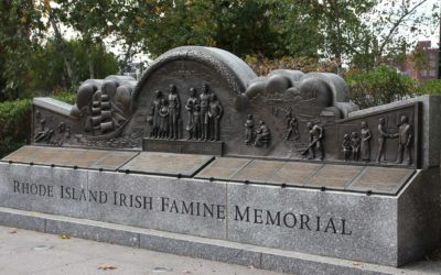 Monday's Monument: Irish Famine Memorial, Providence, Rhode Island