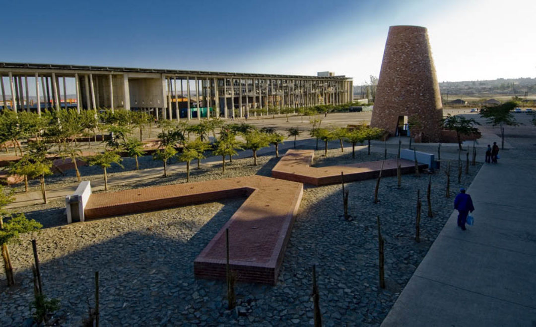 Monday's Monument, Freedom Charter Monument, Kliptown, Soweto, South Africa