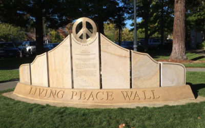 Monday's Monument: Living Peace Wall, Sebastapol, California
