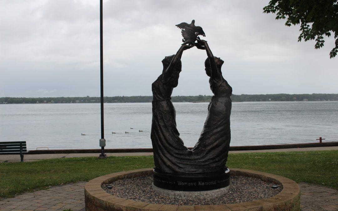 Monday's Monument: Women's Memorial, Brockville Ontario, Canada
