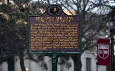 Monday's Monument: Slave Trade Marker, Camden, New Jersey