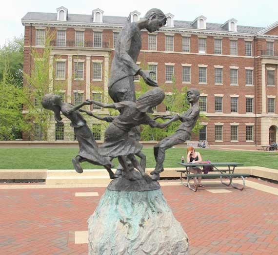 Monday's Monument: Ethics of Peace, Washington, D.C.