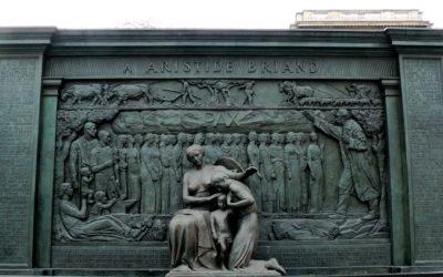 Monday's Monument: Pax (Aristide Briand Monument), Paris, France