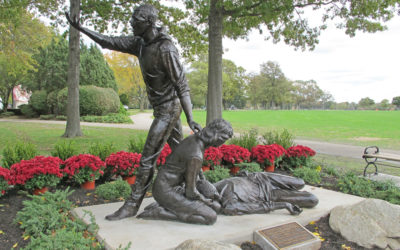 Monday's Monument: Stand Up, Speak Out, Westbury, New York