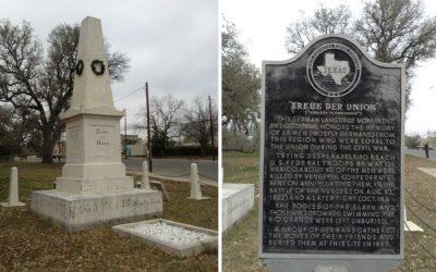 Monday's Monument: Treue der Union Monument, Comfort, Texas