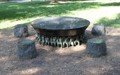 Monday's Monument: Unsung Founders Memorial, Chapel Hill, North Carolina