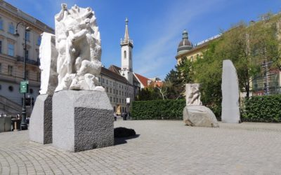 Monday's Monument: Monument Against War and Fascism, Vienna, Austria