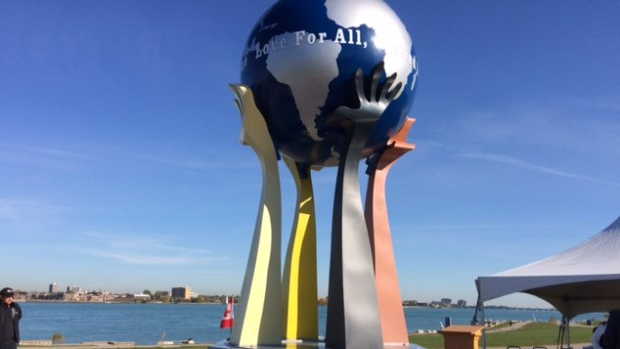 Monday's Monument: Peace for All, Hatred for None, Windsor, Ontario, Canada