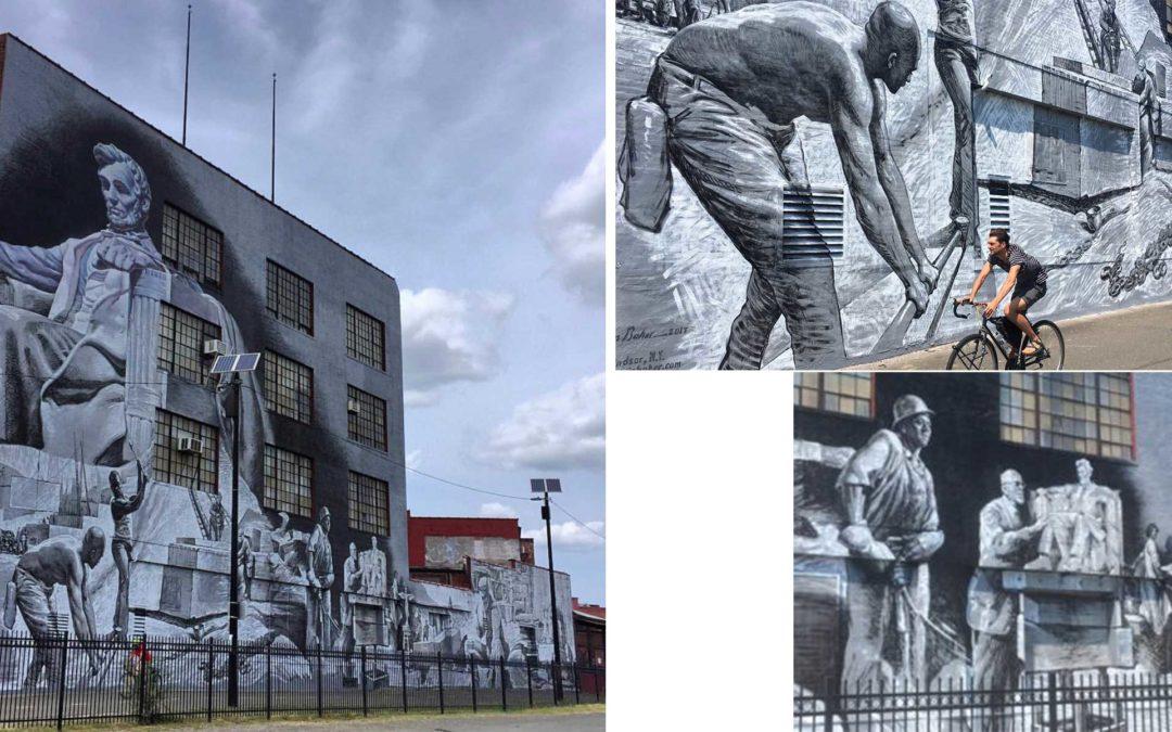 Monday's Monument: 28 Blocks Mural, Washington, DC