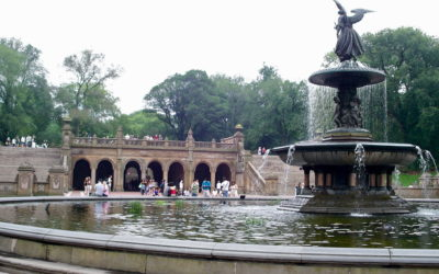 Monday's Monument: Bethesda Fountain, Central Park, New York, New York