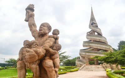 Monday's Monument: Reunification Monument, Yaoundé, Cameroon