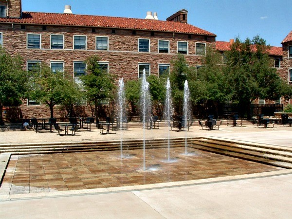 Monday's Monument: Dalton Trumbo Fountain and Plaza, Boulder, Colorado